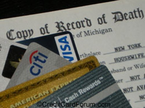credit-cards-with-death-certificate