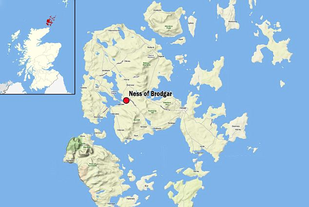 Ness of Brodgar mapppp
