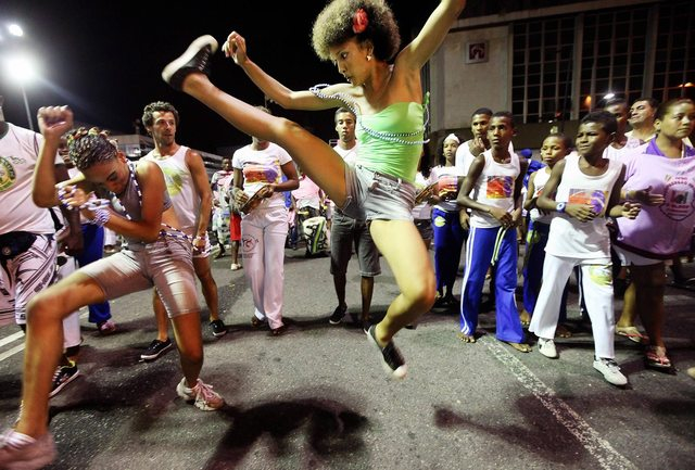 First day of the Carnival, Brazil, 2012