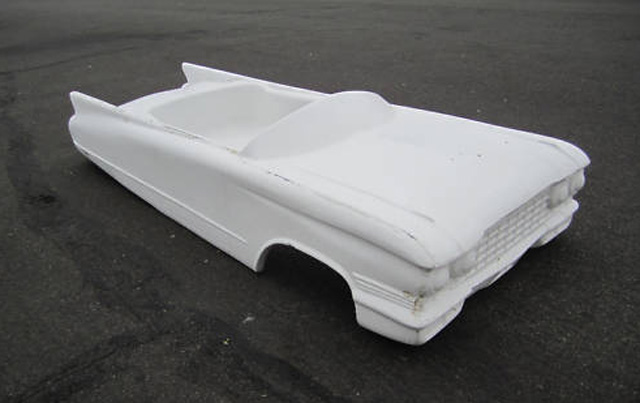 kid fiberglass body car