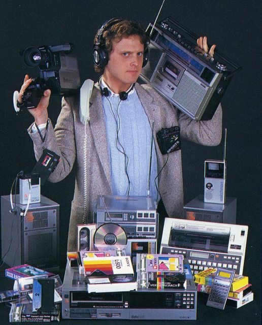 Now, after 30 years, you can carry all of this in your pocket 161