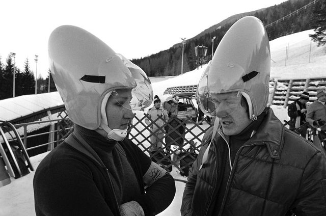 1976 Olympic luge team from planet Remulak v34b5n