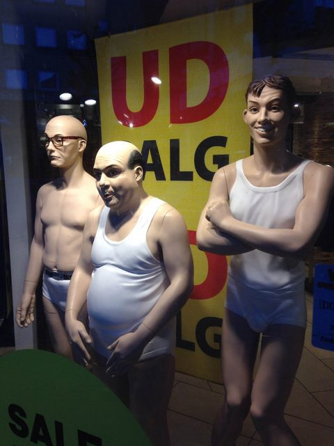 Mannequins from a store in Denmark 7hq1a