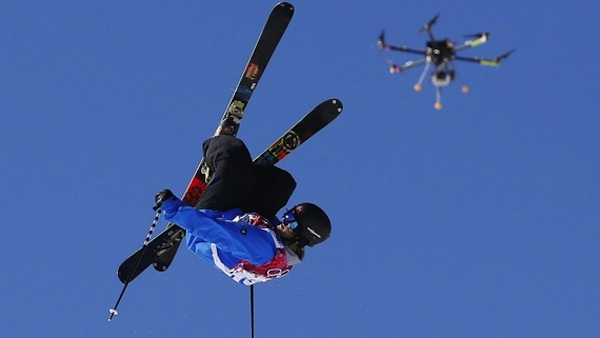 drones sports photography