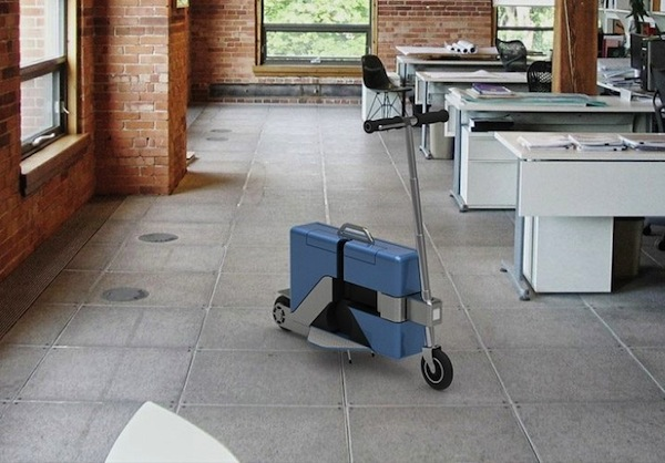 Briefcase scooter