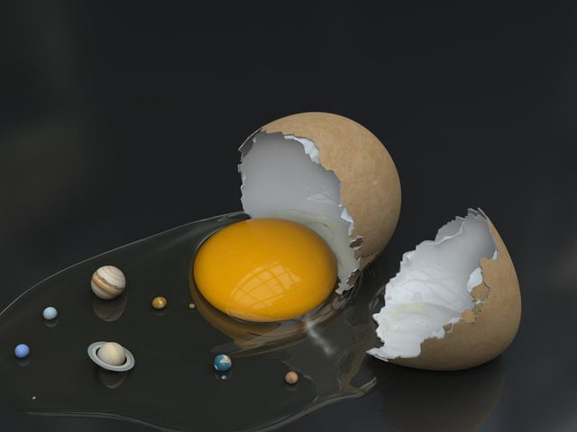To make the universe you have to break some eggs c12v