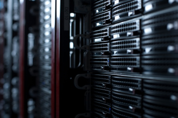 Rackmount Servers in a Data Center