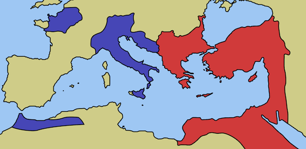 end of western empire