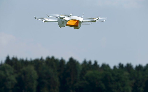 The Swiss postal service recently announced it would be delivering letters with drones