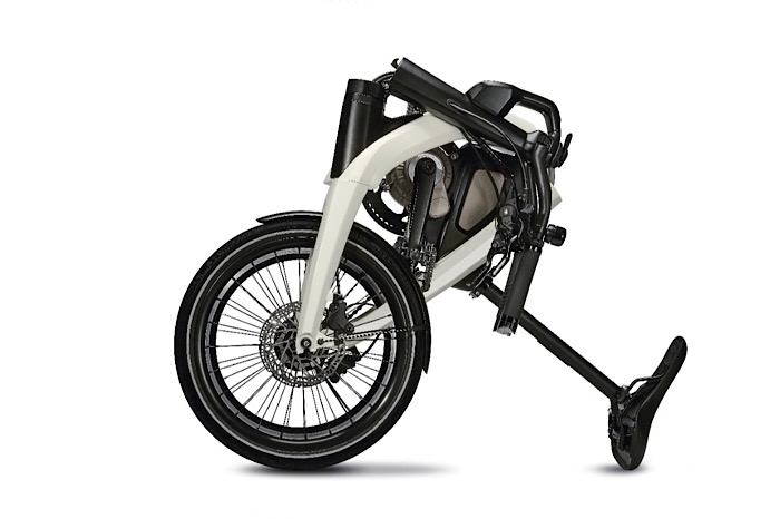 Today we revealed two innovative, integrated and connected eBikes – one folding and one compact – without a brand.
