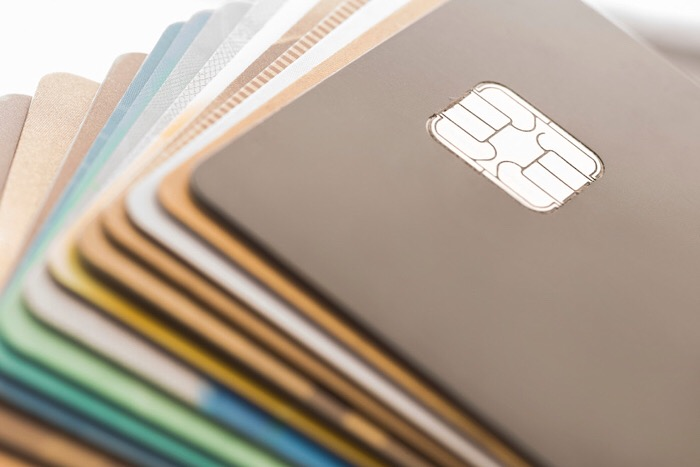 Credit cards, illustration