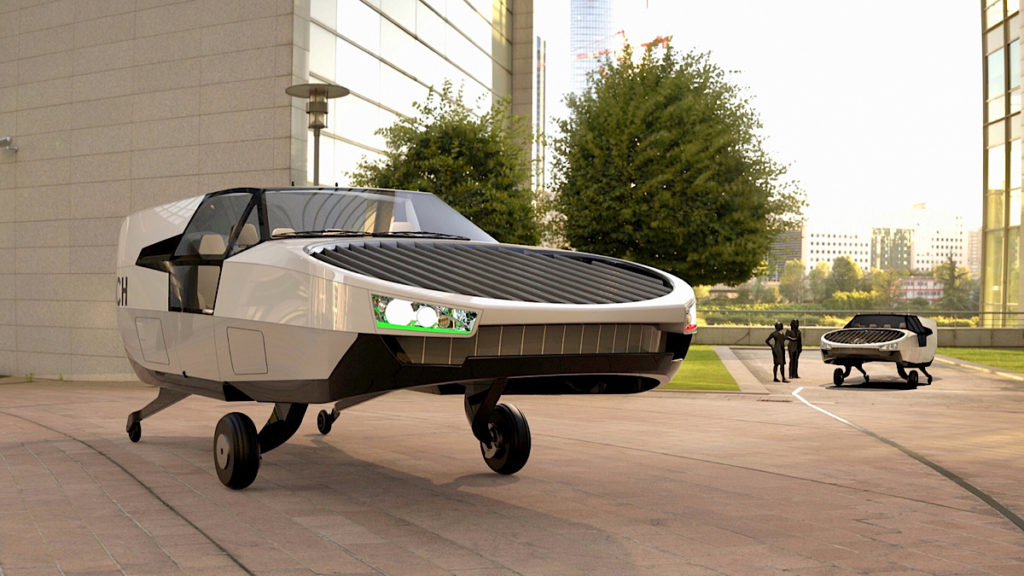 Futuristic-Flying-ambulances-zooming-around-new-york