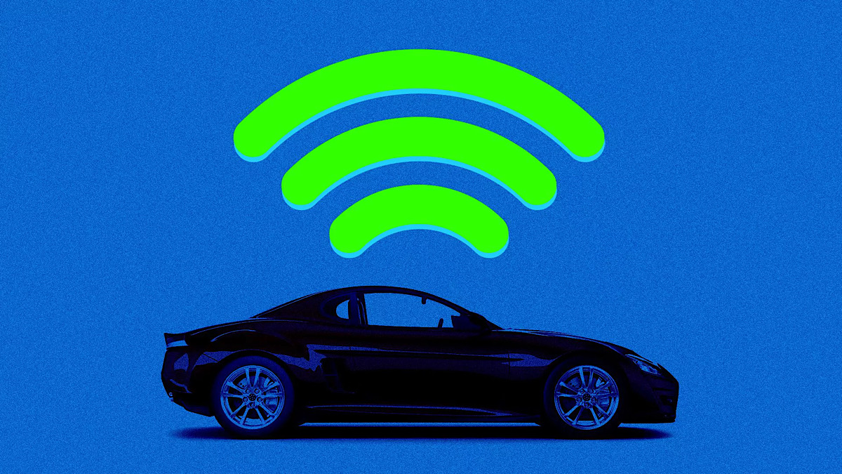 The cloud-based car is arriving