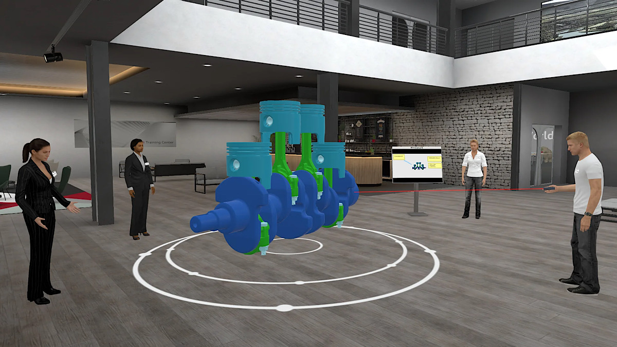 Audi's New Virtual Office Program Sure Looks Like the Second Coming of Second Life