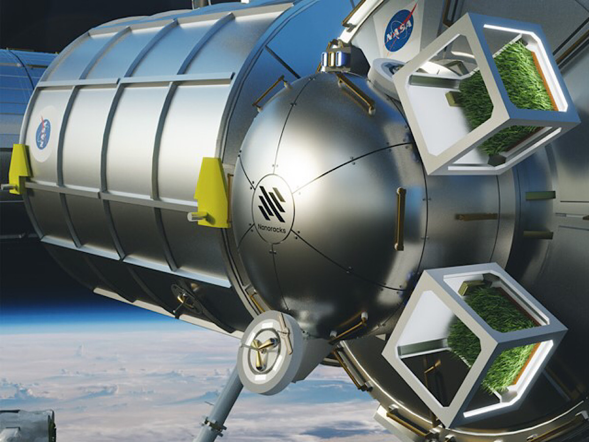 NASA CONTRACTOR SIGNS DEAL TO BUILD GREENHOUSES IN EARTH'S ORBIT
