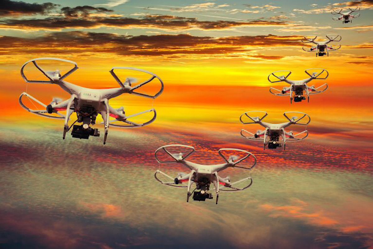 Robot Motherships To Launch Drone Swarms From Sea, Underwater, Air And Near-Space