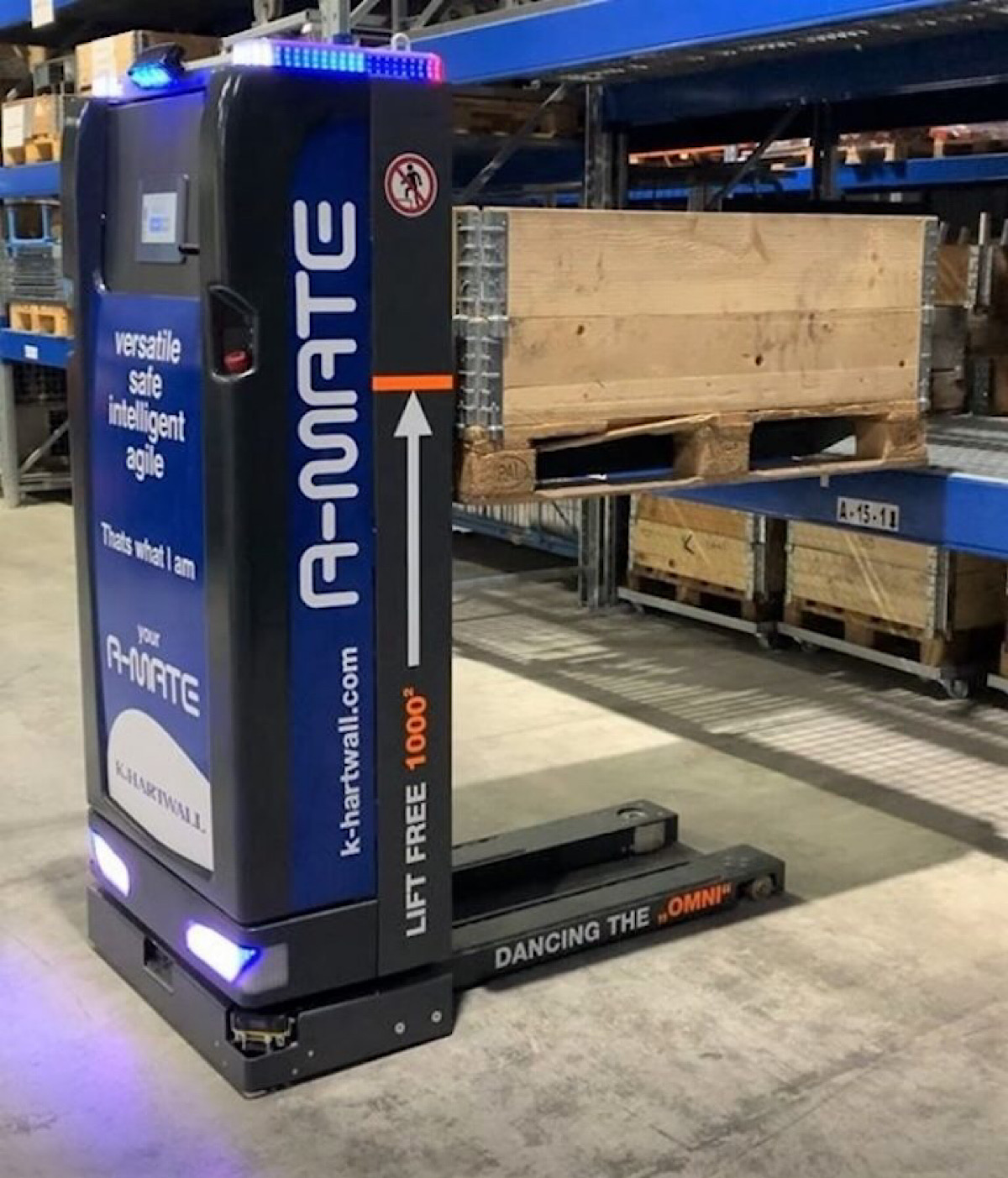 K.Hartwall launches new 'autonomous mobile robot'