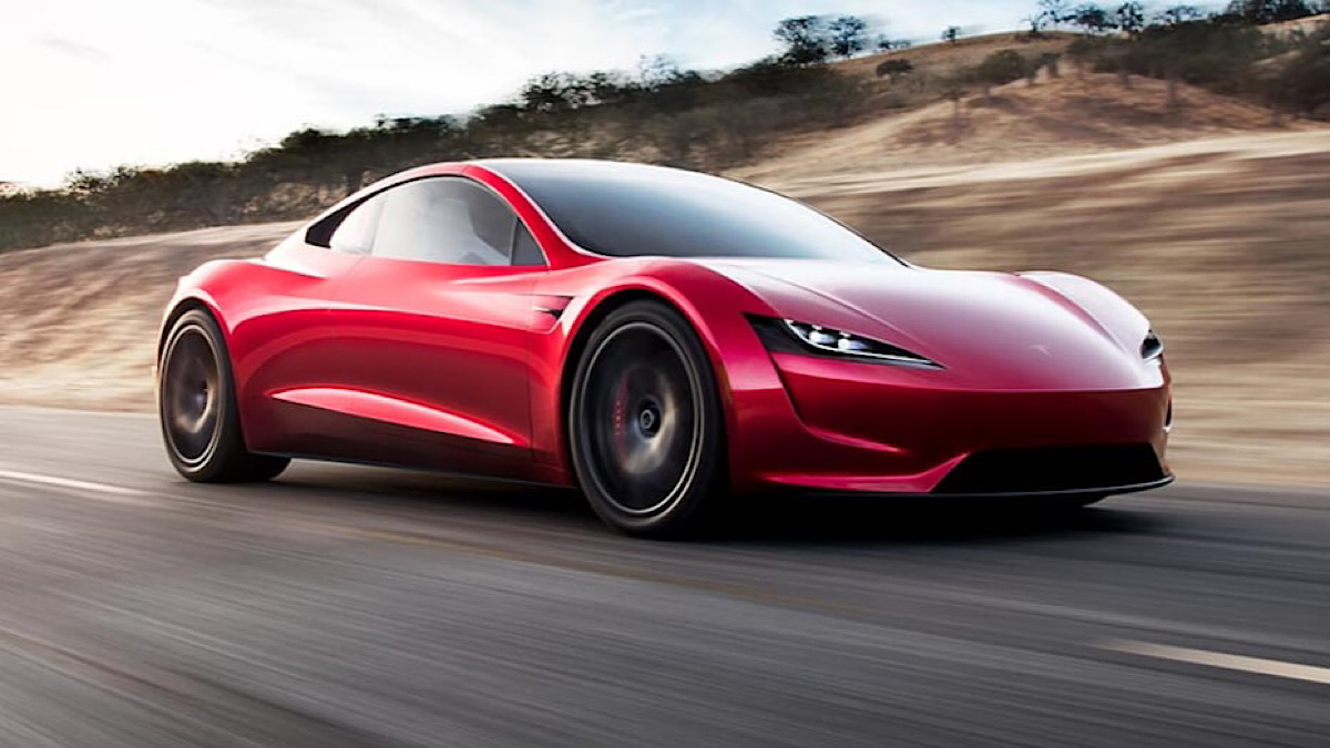 Elon Musk wants the upcoming Tesla Roadster to hover