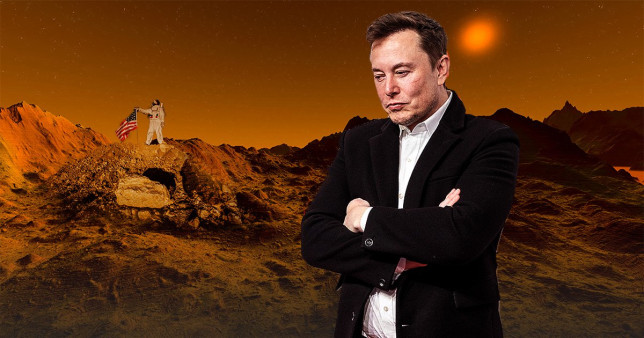 Elon Musk reveals ambitious plans to get humans to Mars by 2026 – seven YEARS before NASA aims to take astronauts to the Red Planet