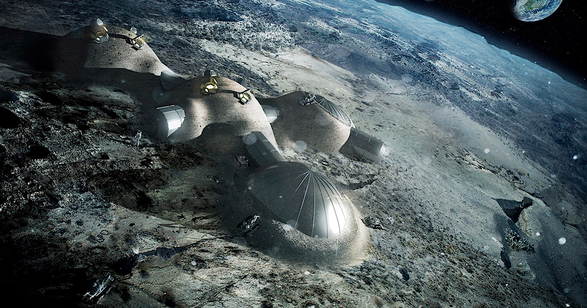 HARVARD SCIENTISTS PROPOSE SUPER-TALL TOWERS TO POWER MOON BASE