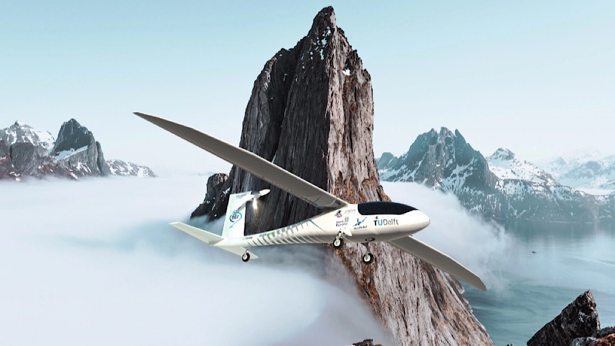 Dutch Students Just Unveiled the World's First Hydrogen-Powered Aircraft