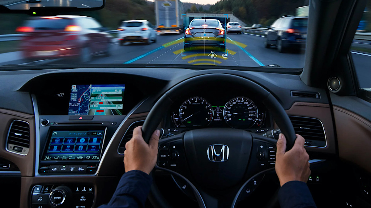 Honda's Now Selling the World's First Production Car with Level 3 Self-Driving Tech