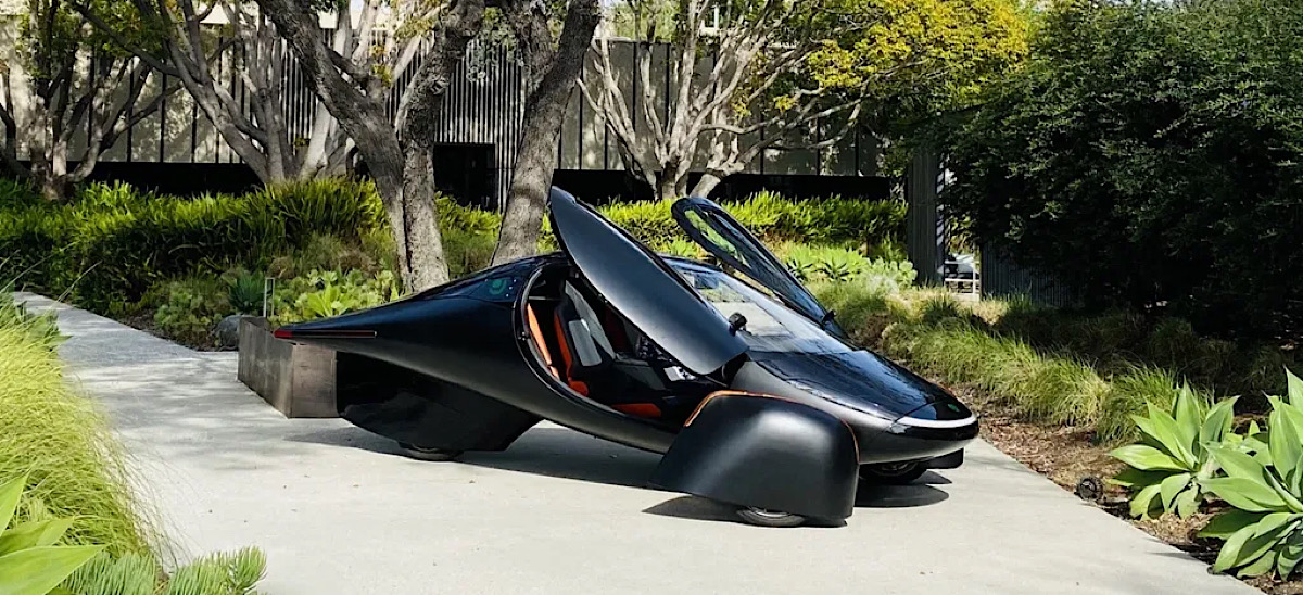 Aptera solar electric car with '1,000 miles' of range gets $4M in backing, more than 7,000 preorders