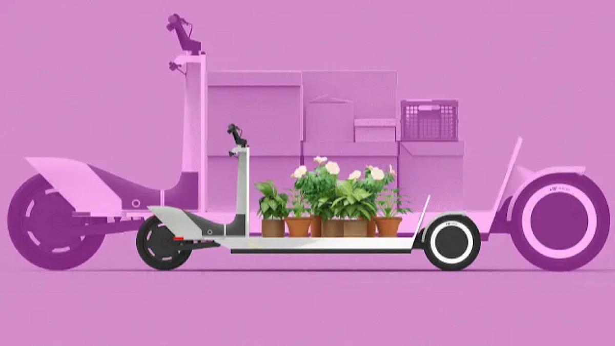 This electric 'urban sled' is a model for a future of emission-free deliveries