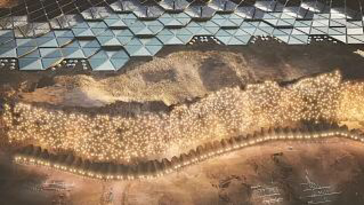 PLANS FOR THE FIRST SUSTAINABLE CITY ON MARS UNVEILED