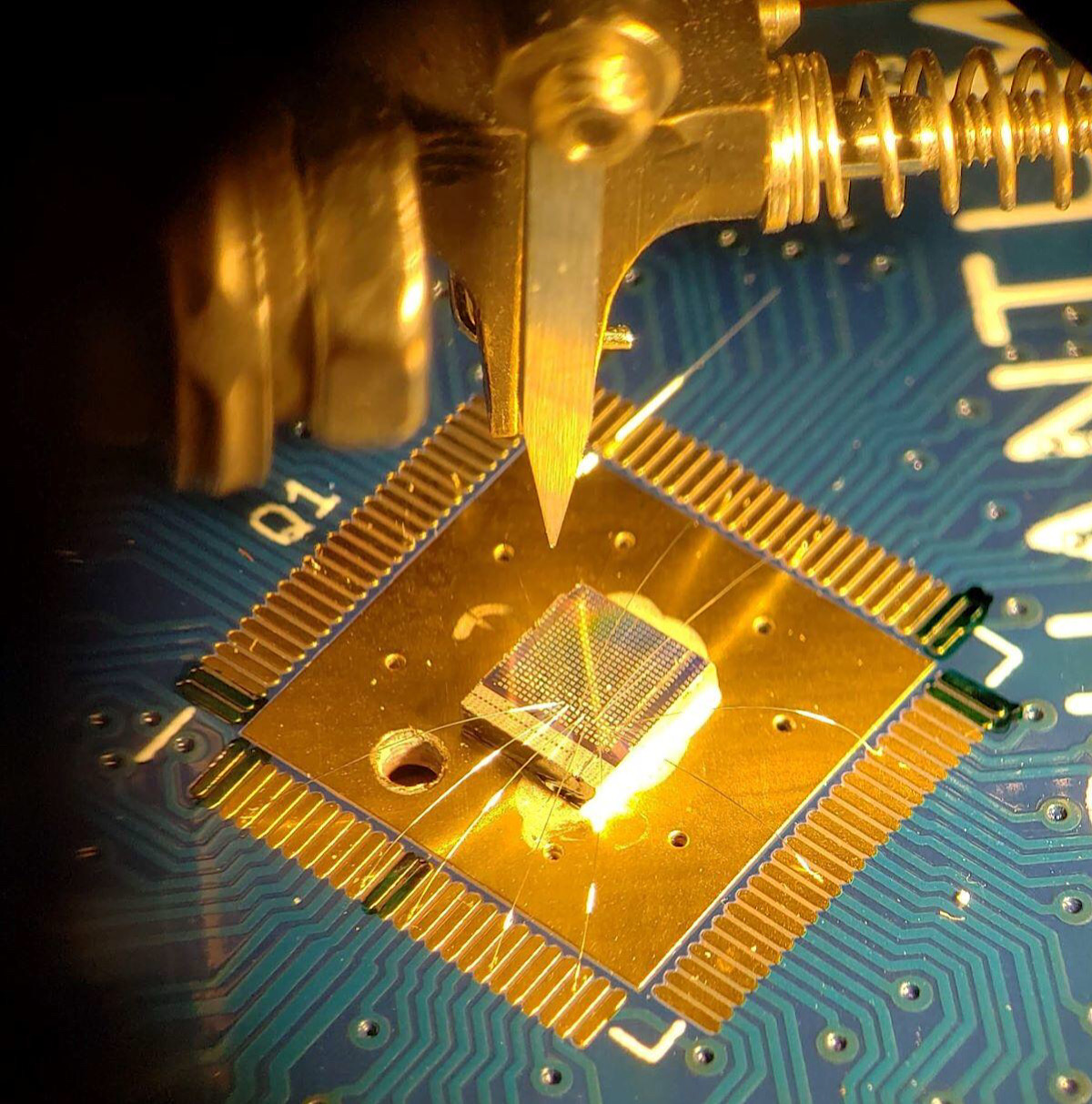 'We're hacking the process of creating qubits.' How standard silicon chips could be used for quantum computing