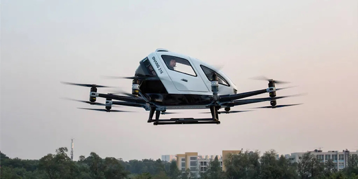 Hong Kong airline aims to transport passengers for $25, using drones