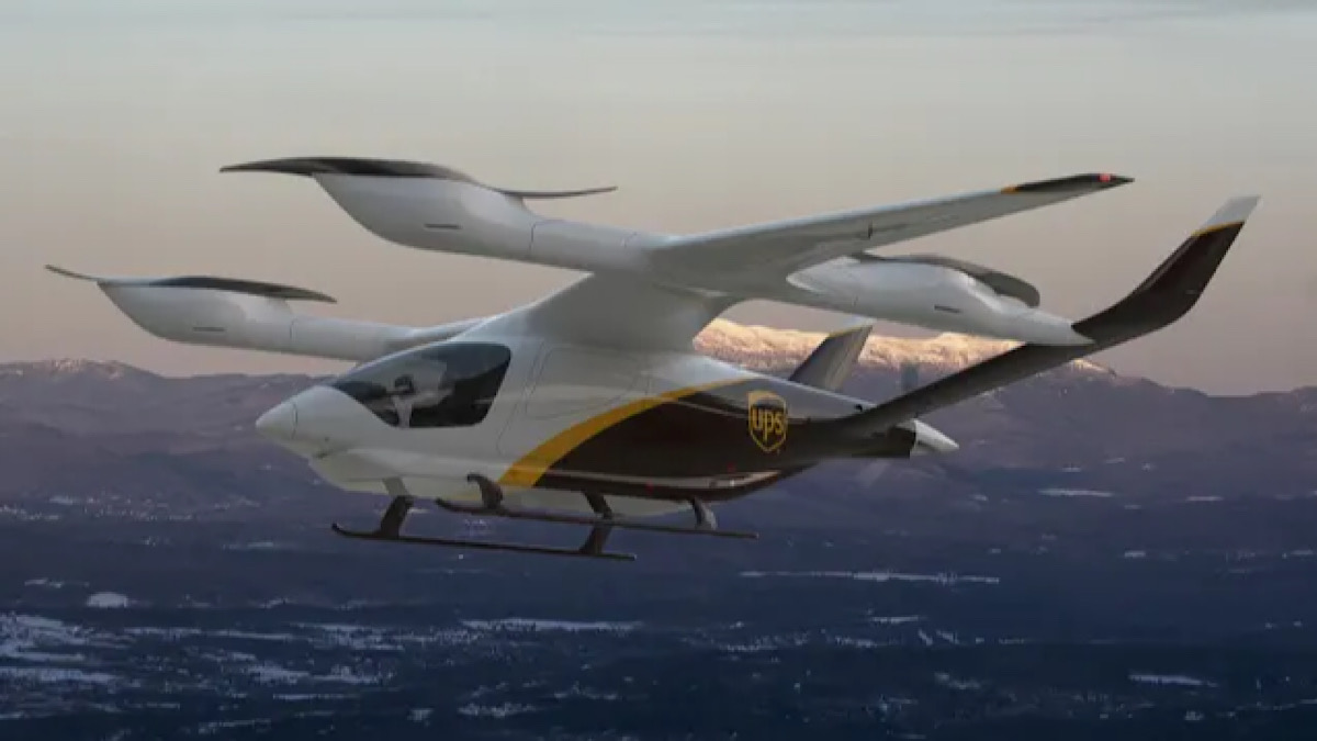 Inside UPS's new plans for flying electric delivery vans