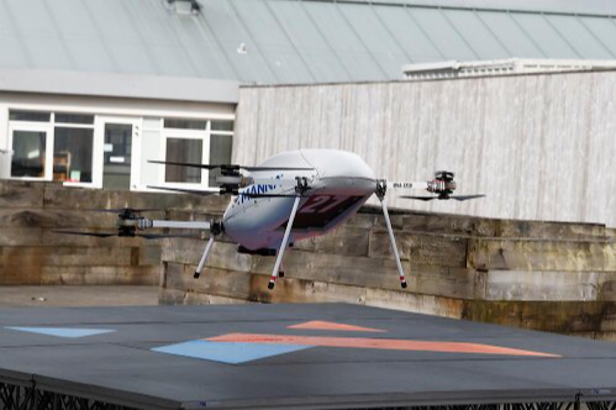 Samsung Electronics launches drone deliveries in Ireland