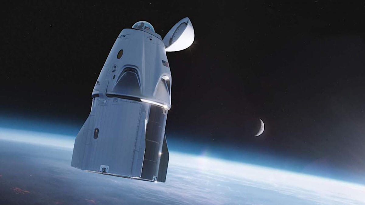 SpaceX reveals new Crew Dragon with an incredible window dome