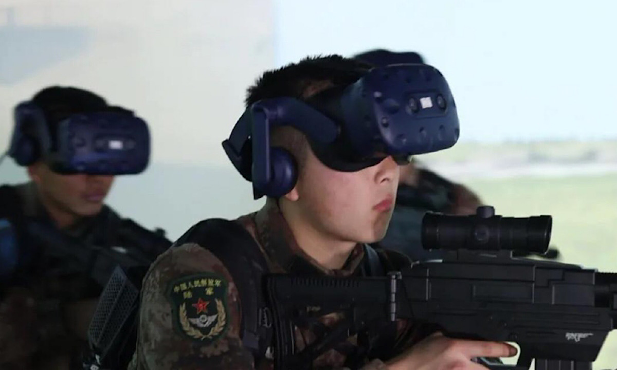 China Turns To Virtual Reality (VR) Technology To Hone Combat Skills Of Its Soldiers
