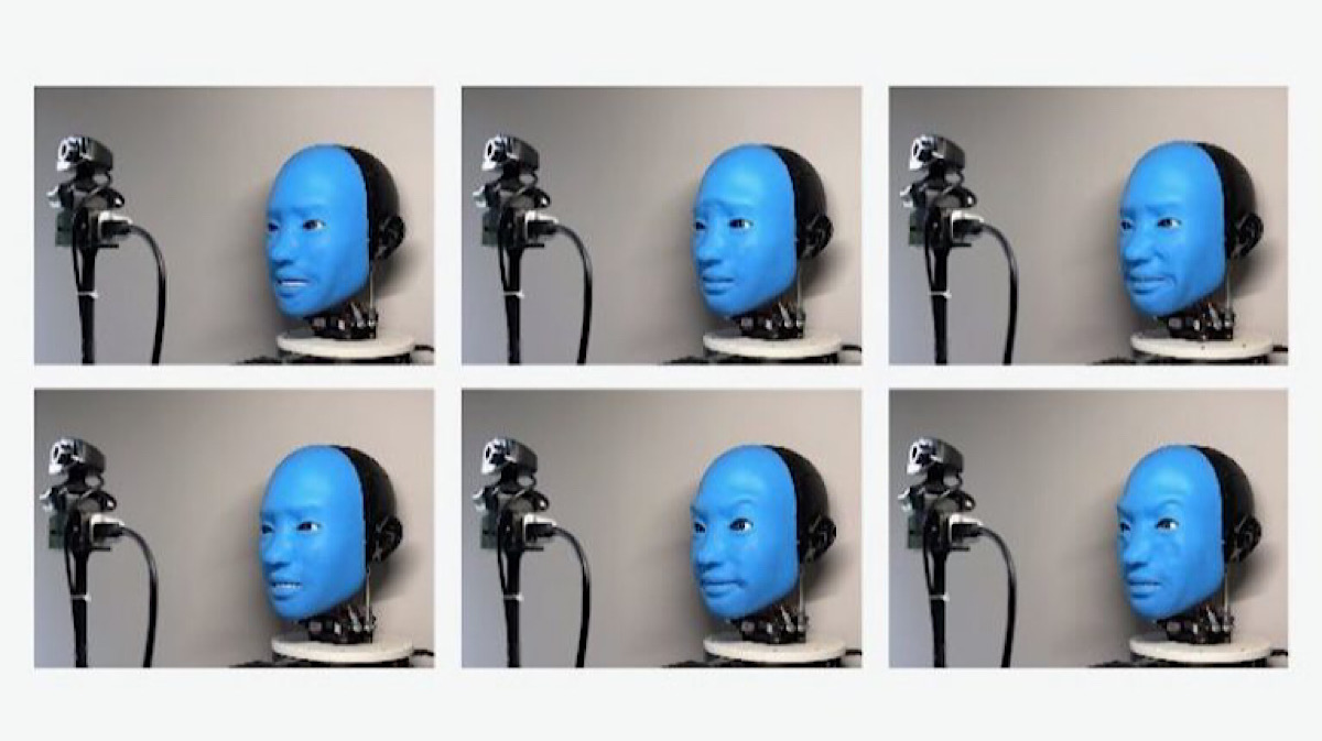 The robot smiles back: Columbia scientists teach robot how to respond to human facial expressions
