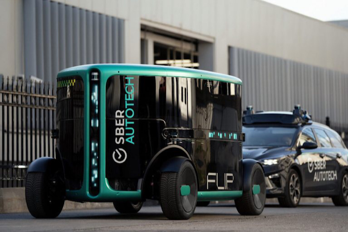 SberAutoTech launches its first fully autonomous vehicle