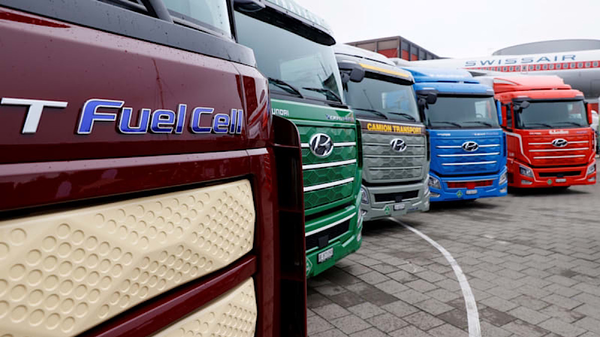 Hyundai raises hydrogen game with new line of fuel-cell trucks