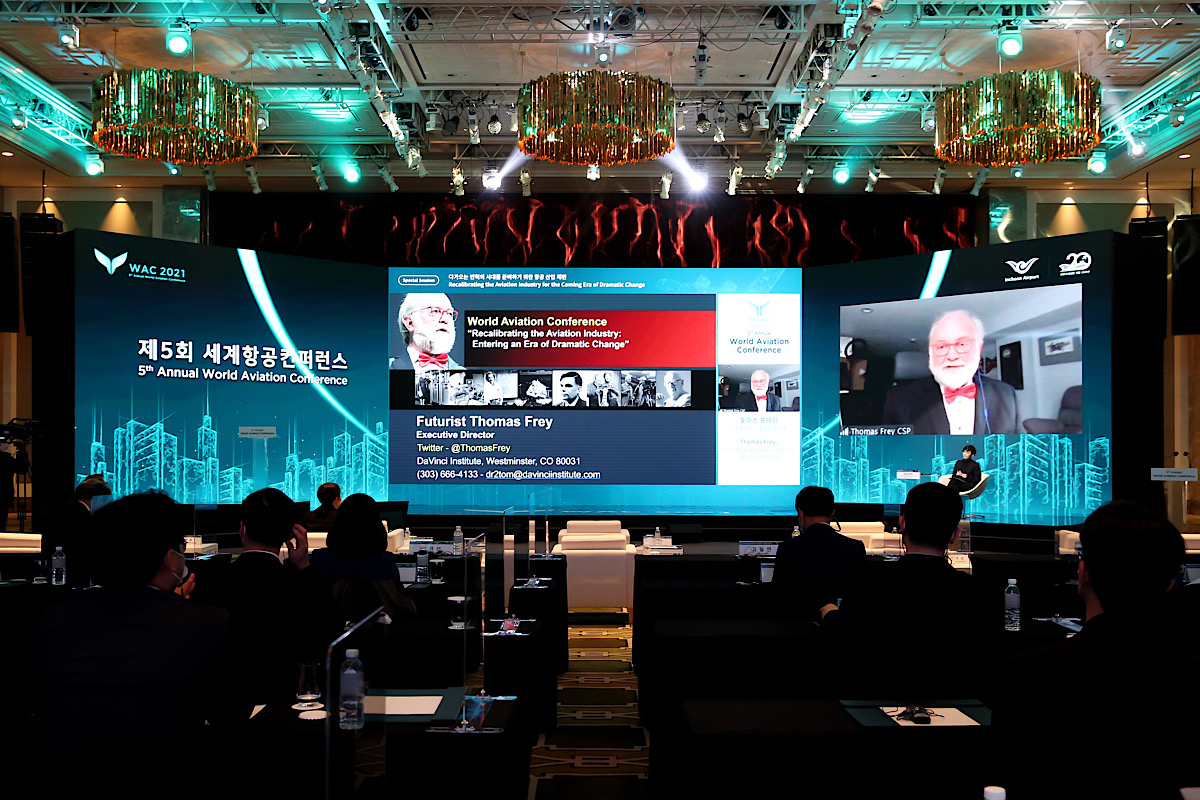 Incheon's World Aviation Conference watched by 27,000 viewers on YouTube