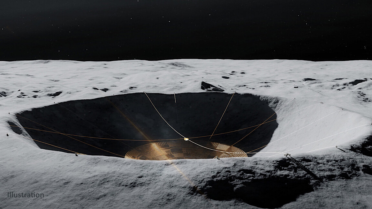 Why NASA is building a gigantic telescope on the far side of the Moon