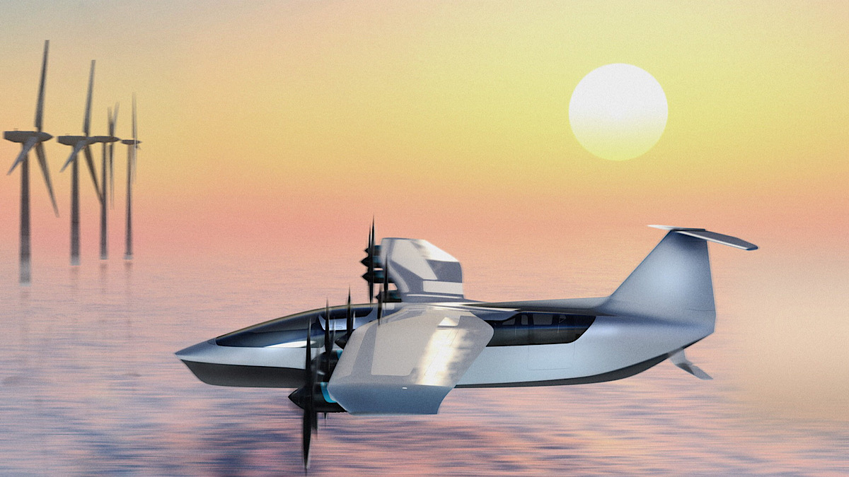 World's First Electric Seaglider Will Cruise the Seas at 180 MPH