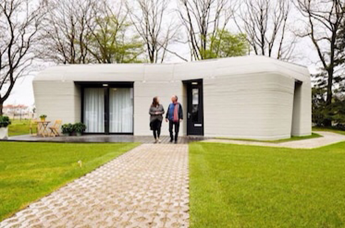 Dutch Firm Builds First Commercial House Printed With 3D Technology