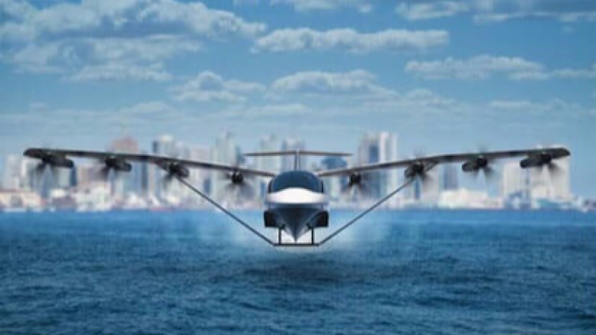 This flying electric ferry could revolutionize coastal travel