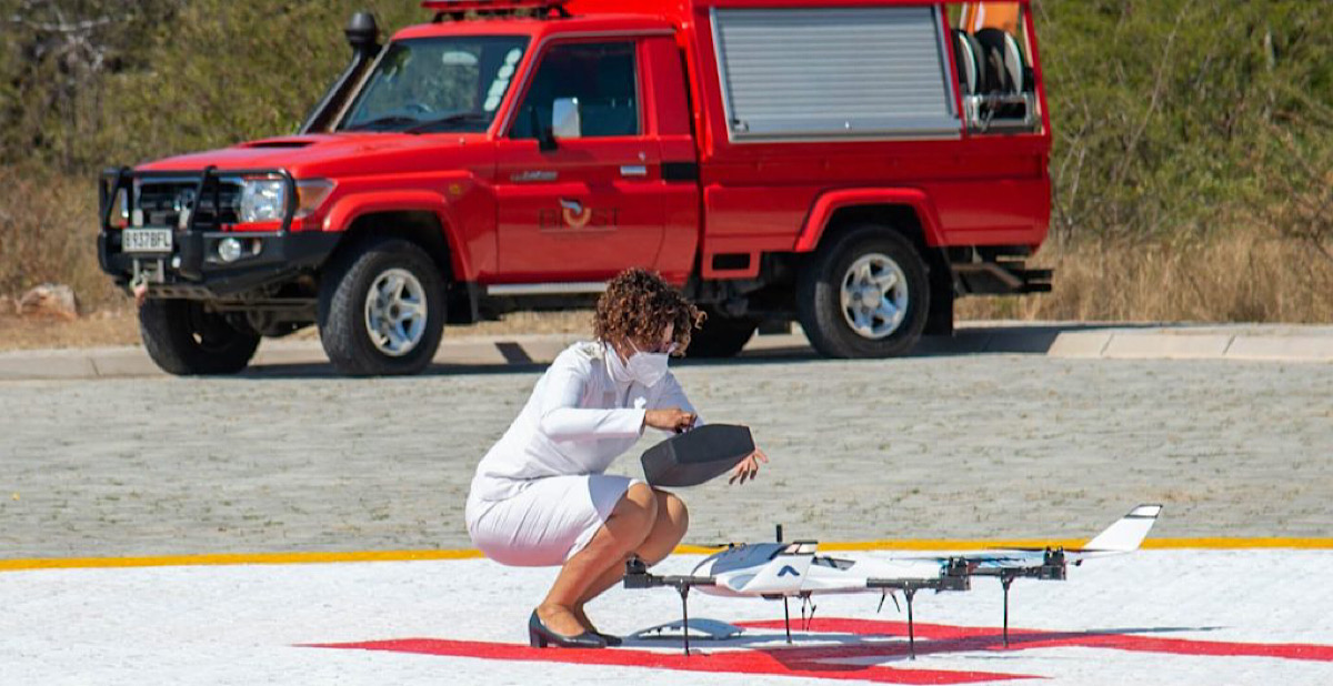 Botswana begins medical drone delivery service to prevent maternal deaths