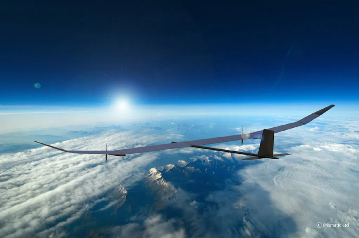 New BAE 'pseudo satellite' can remain aloft at 70,000 feet for a year