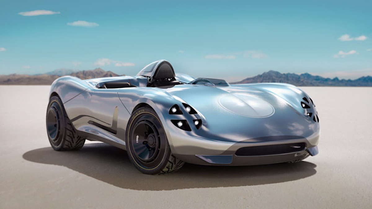 HACKROD UNVEILS WORLD'S FIRST VIRTUAL REALITY-DESIGNED, AI-ENGINEERED, 3D-PRINTED CAR