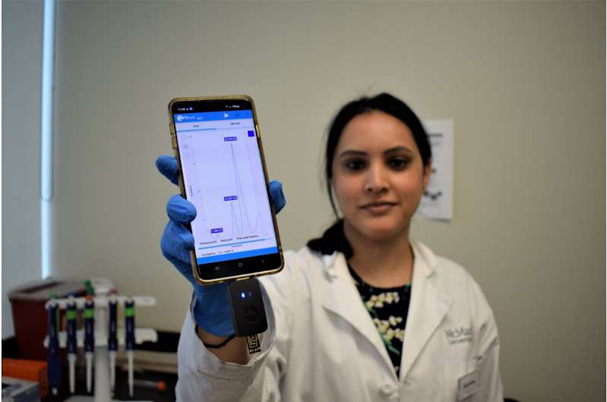 No lab required: New technology can diagnose infections in minutes