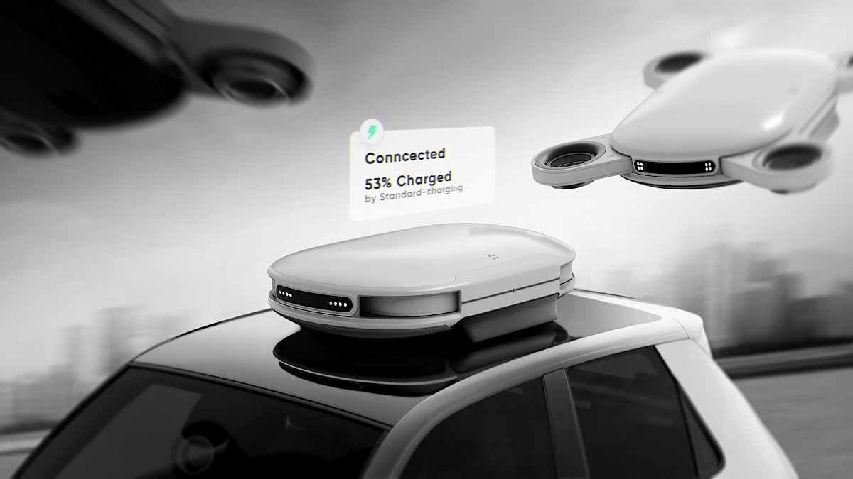 Nebo Recharge Infrastructure Will Use Drones to Keep Your EVs Rolling Forever