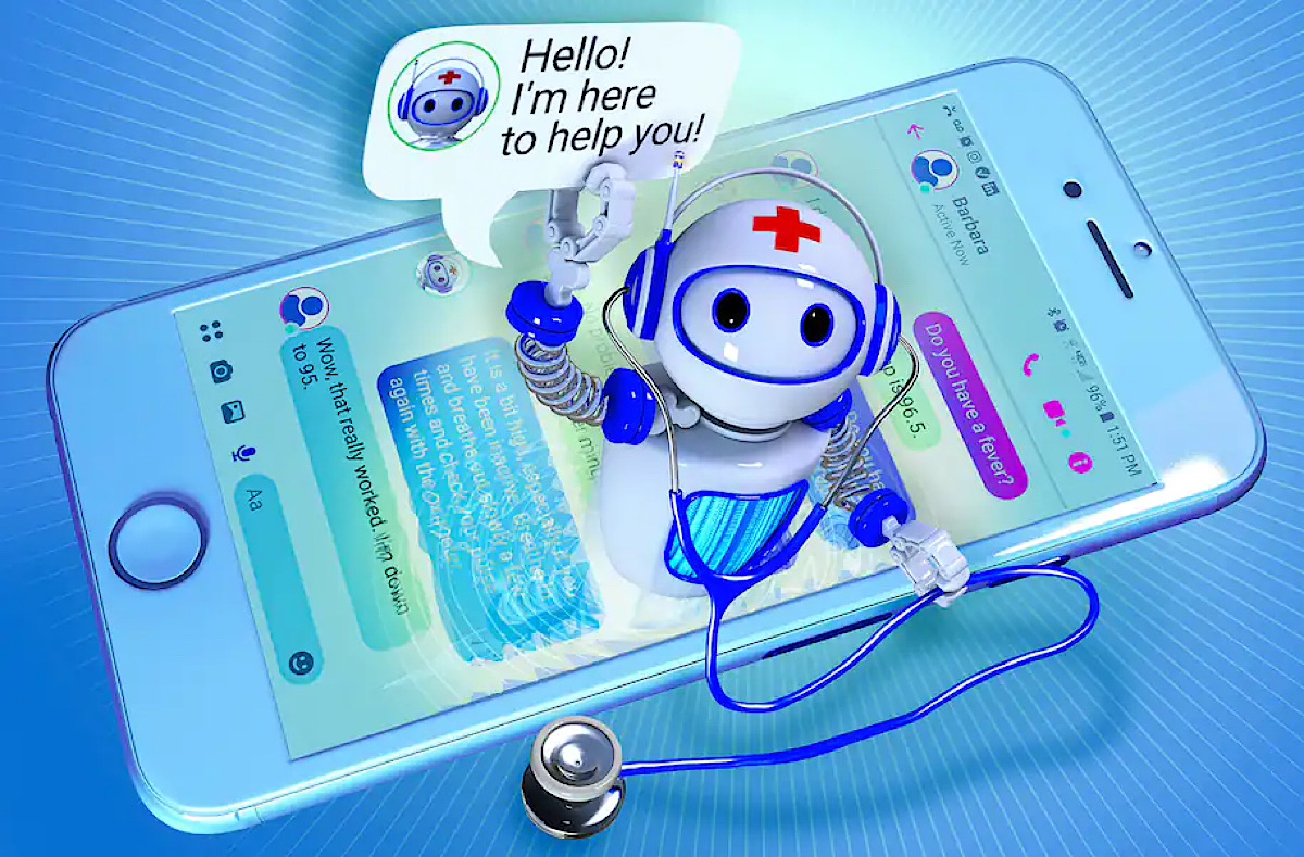 The Robot Will See You Now: Health-Care Chatbots Boom but Still Can't Replace Doctors