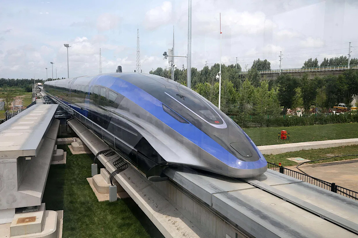 China unveils 373-mph 'levitating' train, fastest ground vehicle in the world